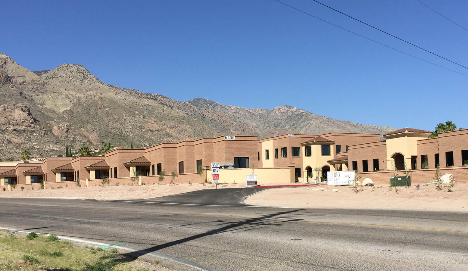 R&G commercial real estate office leasing at 6420 N Swan Rd Tucson AZ