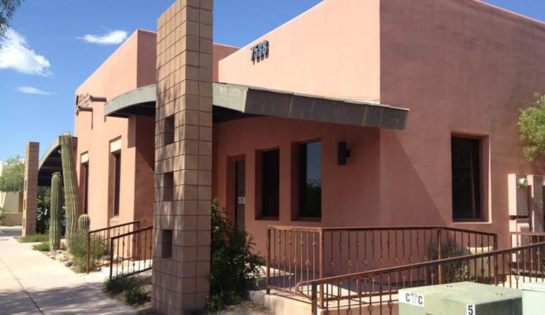 R&G commercial real estate office leasing at 7538 N La Cholla Blvd Tucson AZ