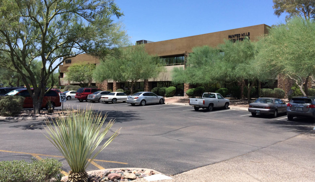 Tucson office space for lease at 6373 e tanque verde rd
