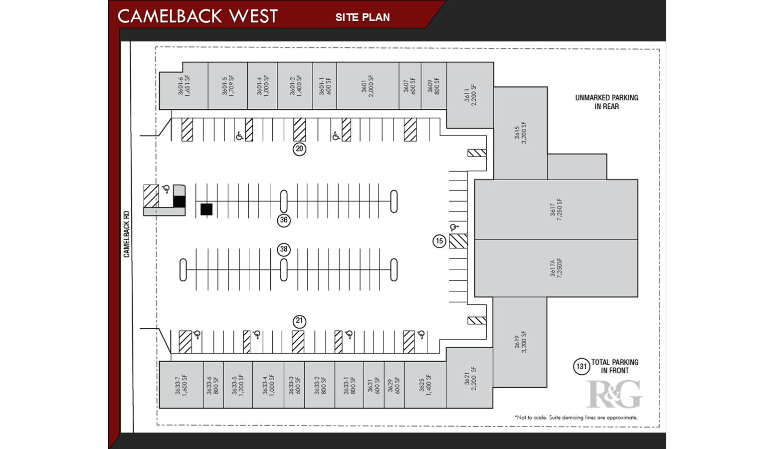 Site Plan- Camelback West with suites - REIN & GROSSOEHME Commercial